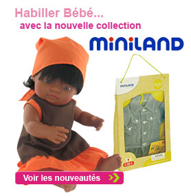 Nouvelle collection Miniland