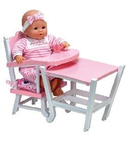 chaise haute modulable univers poup es la boutique des poup es et des poupons. Black Bedroom Furniture Sets. Home Design Ideas