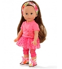 poupee Chlo� just like me tenue rose 27cm