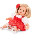 poupee Muffin blonde tenue rouge 33cm
