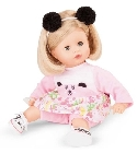 poupee Muffin blonde Happy panda 33cm