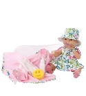 poupee Sleepy Aquini robe printemps 33cm