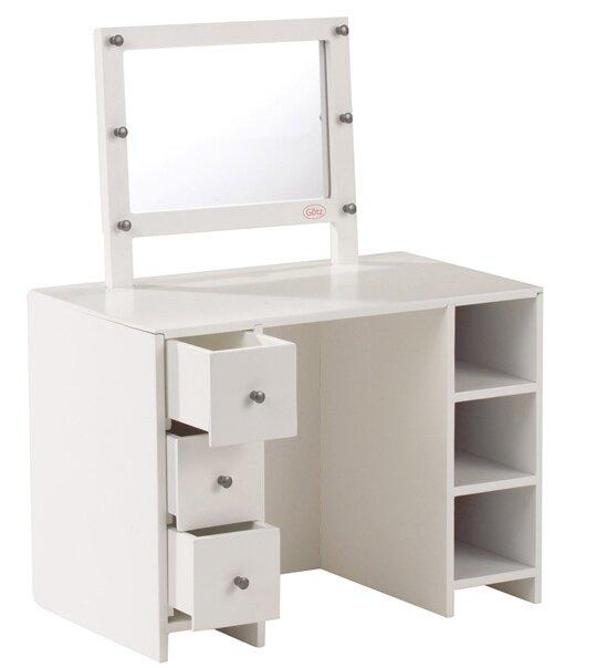 impression de l 39 article table maquillage pour poup e 27 50cm univers poup es la boutique des. Black Bedroom Furniture Sets. Home Design Ideas