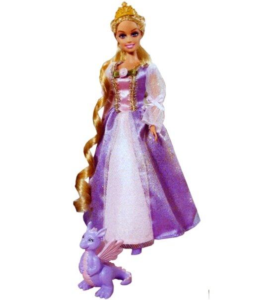 Impression de l 39 article mini princesse barbie raiponce univers poup es la boutique des - Reponse la princesse ...