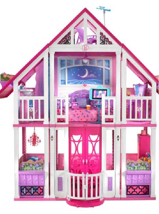 barbie ma maison de r ve univers poup es la boutique des. Black Bedroom Furniture Sets. Home Design Ideas