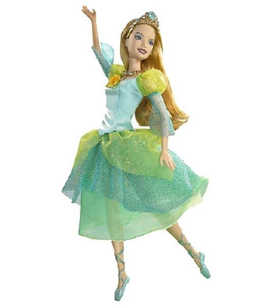 Barbie princesse Delia. Les Soeurs Ballerines vont vivre des aventures ...