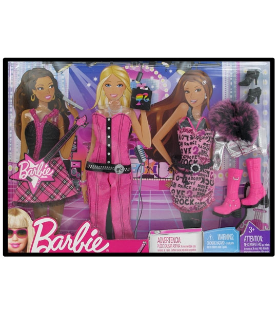 wholesale sales sale online best cheap Impression de l'article : Assortiment Barbie de 3 tenues ...
