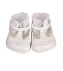 poupee Chaussures sandales blanches 70mm