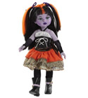 poupee Poup�e paolareina monster tenue orange