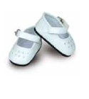 Chaussures blanches Minette T.27cm poupee